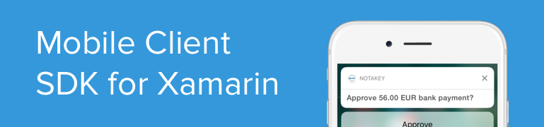 Mobile Client Development SDK (Xamarin)