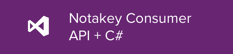 Notakey Consumer API SDK for C#